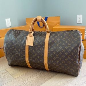 ♥️KEEPALL 60♥️ Authentic Louis Vuitton Travel Bag!